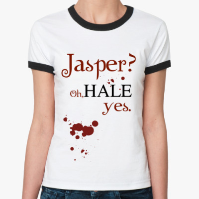 Женская футболка Ringer-T Jasper?