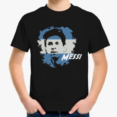 Детская футболка Месси