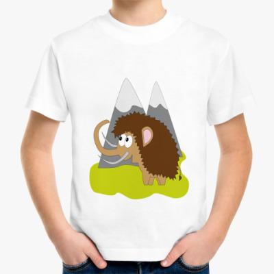 Детская футболка Мамонт