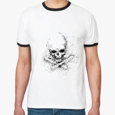 Футболка Ringer-T череп