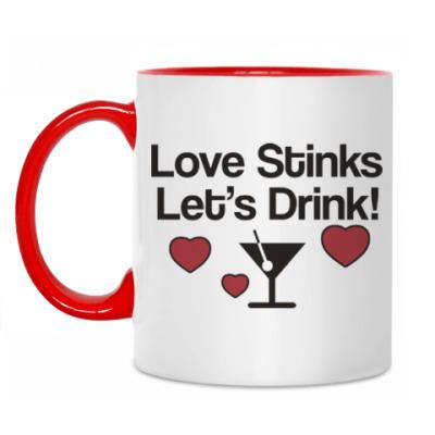 Кружка Love Stinks
