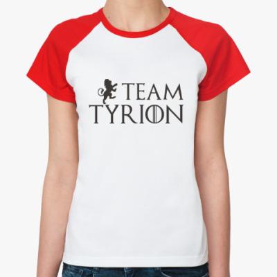Женская футболка реглан Команда Тириона