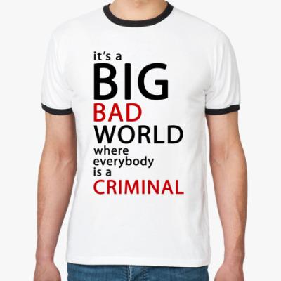 Футболка Ringer-T Bad World