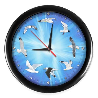 Настенные часы Чайки