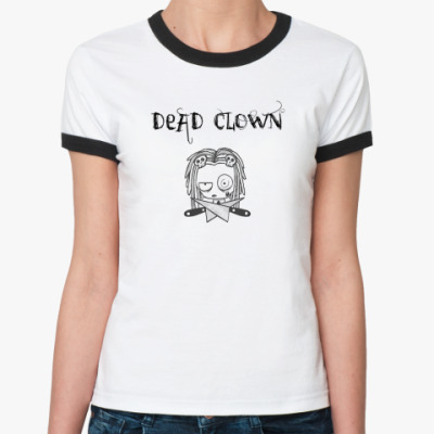 Женская футболка Ringer-T deadclown