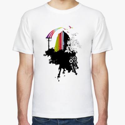 Футболка City Style Rainbow