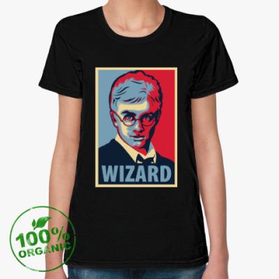 Женская футболка из органик-хлопка Wizard