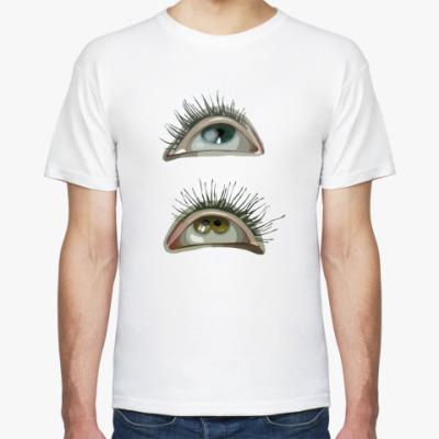 Футболка глаза