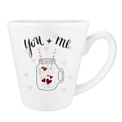 Чашка Латте Смузи с любовью