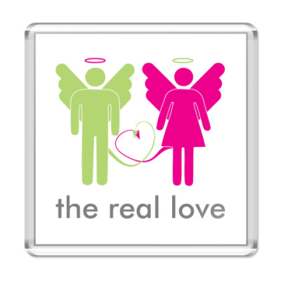 Магнит The real love
