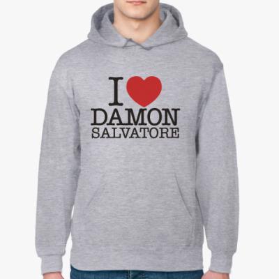 Толстовка худи I LOVE DAMON SALVATORE
