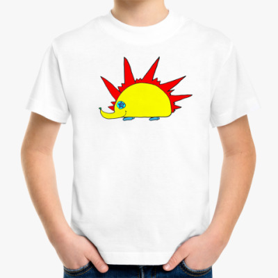 """Детская футболка Детская футболка """"Ежуня"""""""