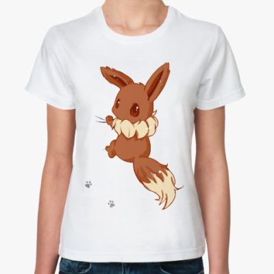 Классическая футболка Лисичка