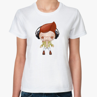 Классическая футболка МЕЛОМАН