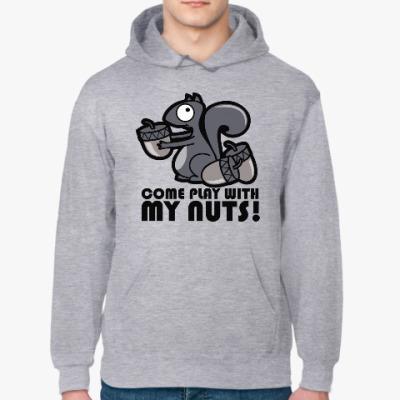 Толстовка худи Play with my nuts
