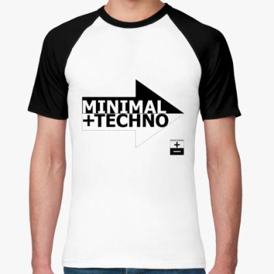 Футболка реглан Minimal Techno