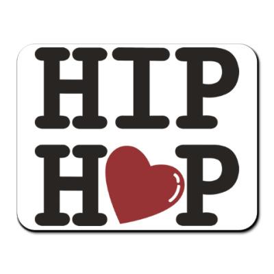 Коврик для мыши Люблю хип-хоп