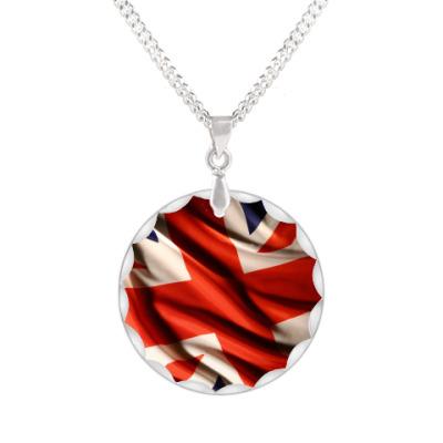 Кулон Британский флаг