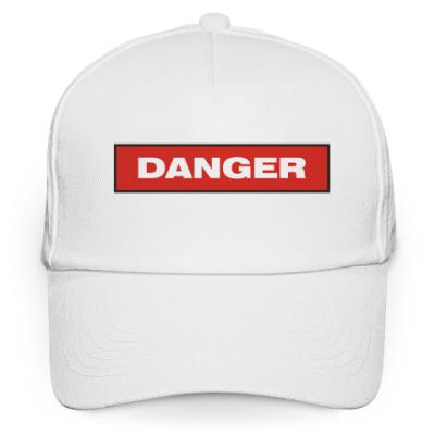 Кепка бейсболка Опасность (Danger)