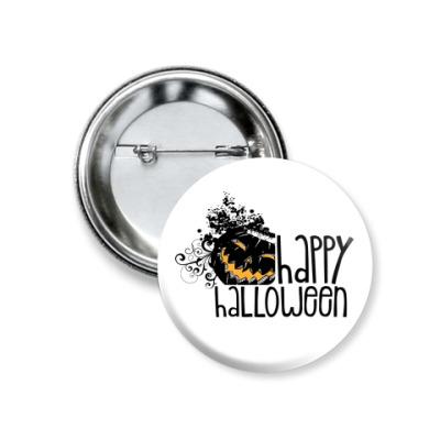 Значок 37мм Happy Halloween