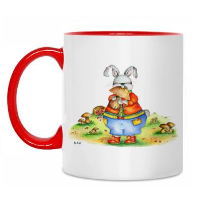 Кружка Кролик-обжора
