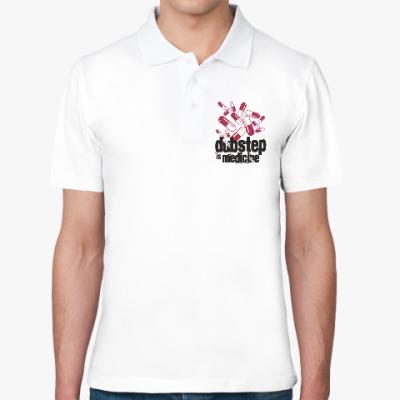 Рубашка поло Дабстеп медицина