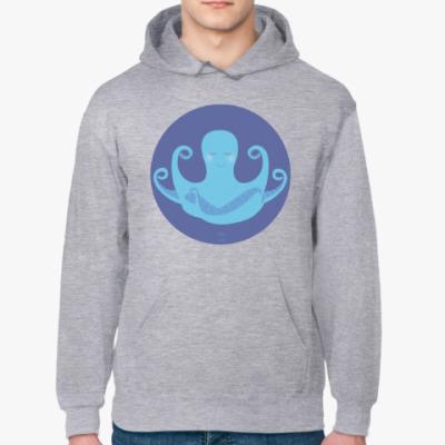Толстовка худи Animal Zen: O is for Octopus