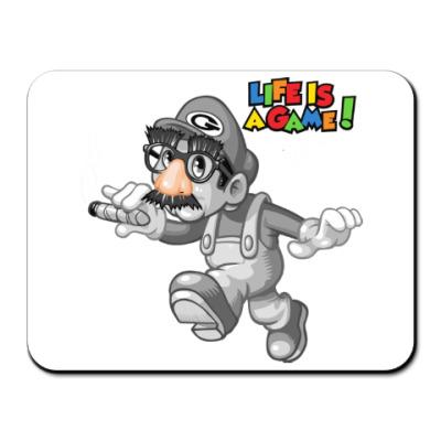 Коврик для мыши Марио - жизнь игра