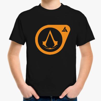 Детская футболка Half-Life Assassin's Creed
