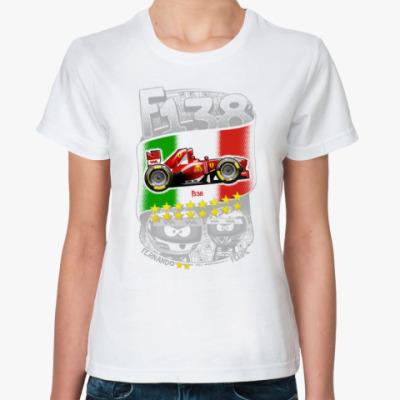Классическая футболка F138