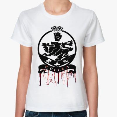 Классическая футболка Bloody Cullen emblem