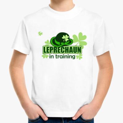 Детская футболка Leprechaun in training