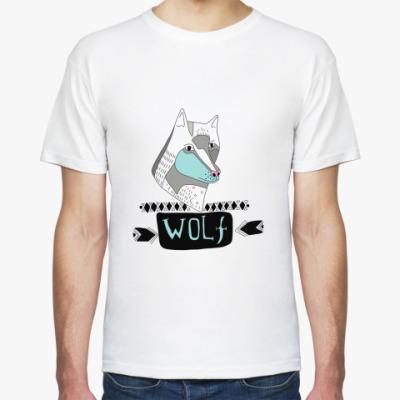 Футболка  'Волк'
