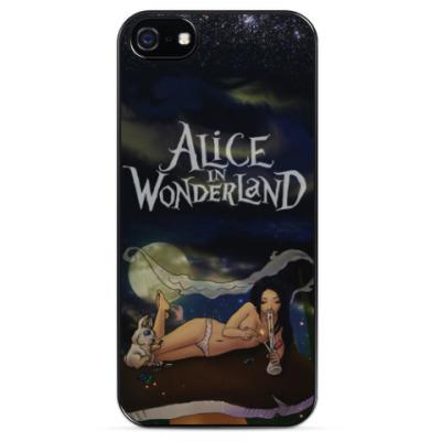 Чехол для iPhone Alice in WonderLand