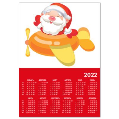 Календарь Дед Мороз к нам мчится