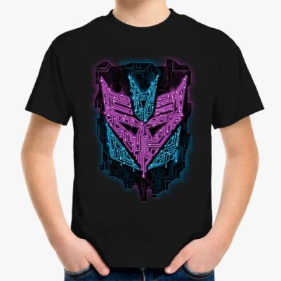 Детская футболка Десептикон