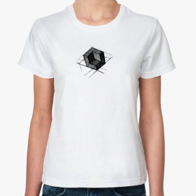 Классическая футболка Куб
