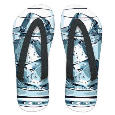 Шлепанцы (сланцы) Glass with Ice