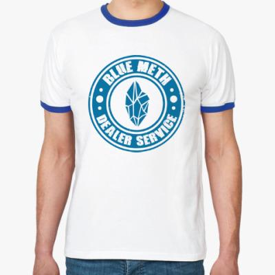 Футболка Ringer-T Blue Meth Dealer