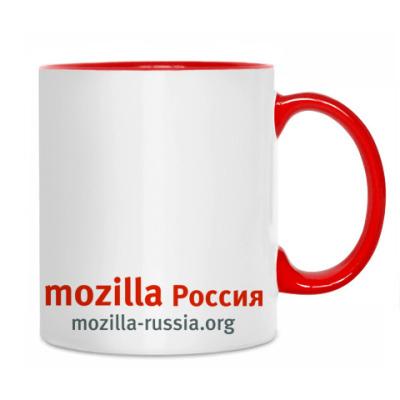 Кружка Mozilla.Rus