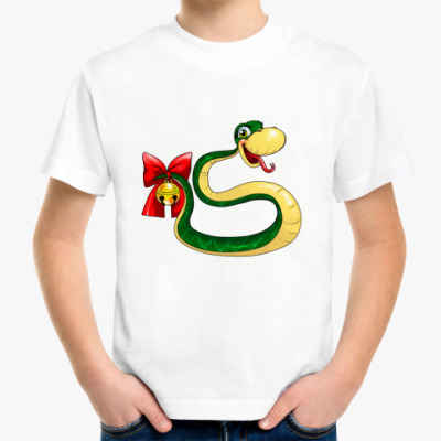 Детская футболка Змейка