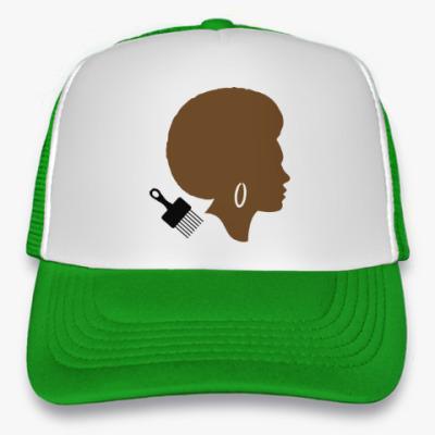 Кепка-тракер Afro Lady