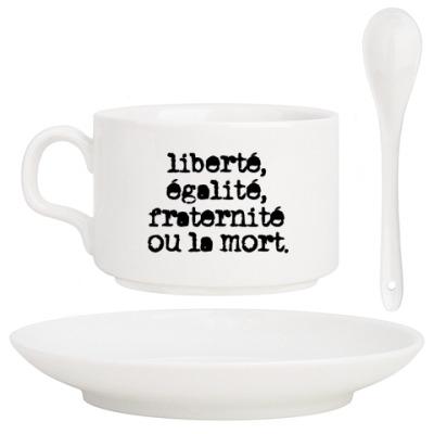 Кофейный набор Свобода, равенство, братство