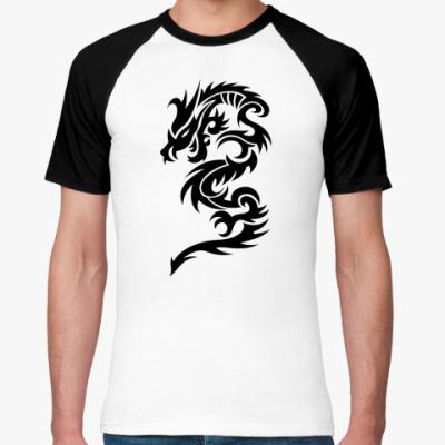 Футболка реглан Abstract Dragon