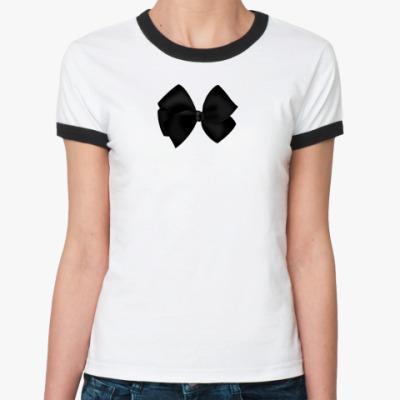 Женская футболка Ringer-T Бант