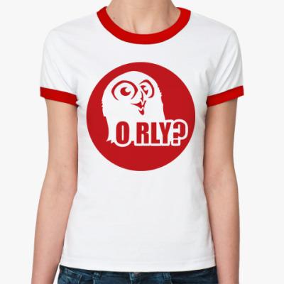 Женская футболка Ringer-T orly