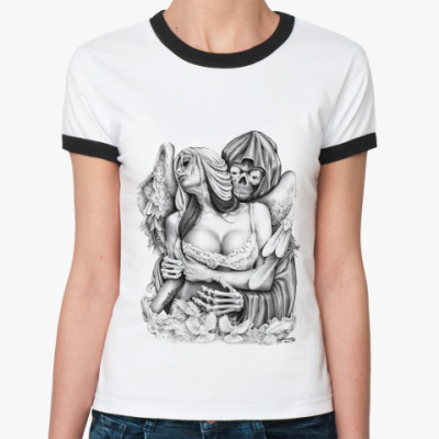 Женская футболка Ringer-T Reaper Embrace