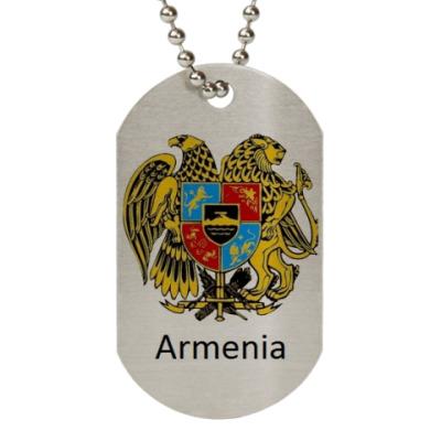 Жетон dog-tag Армения