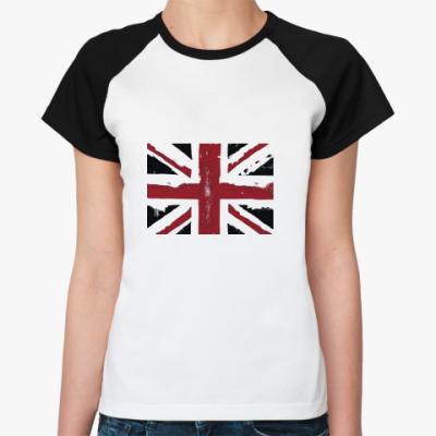 Женская футболка реглан Black-Jack