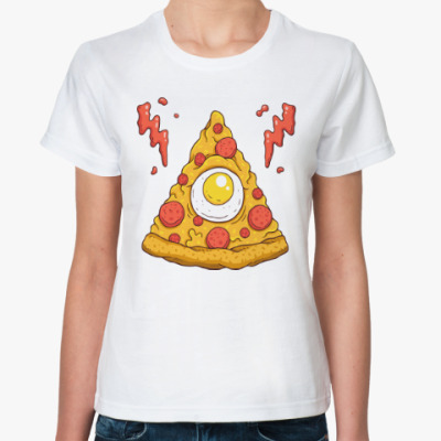 Классическая футболка Пицца, Pizza